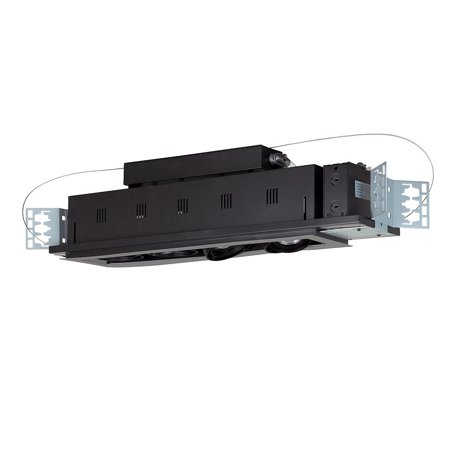 Jesco Lighting MGP20-4SB 4 - Light Double Gimbal Linear Recessed Line Voltage Fixture.