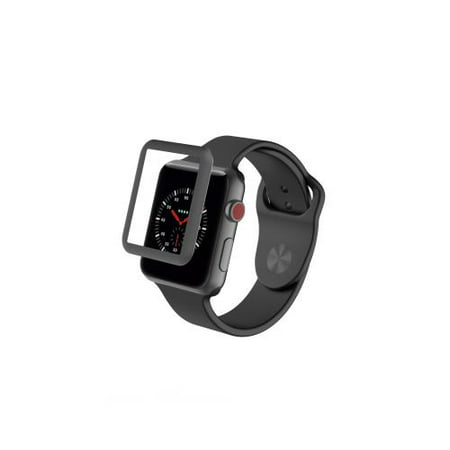 ZAGG Apple Watch Series 3 38mm Glass Luxe Screen Protection - Black