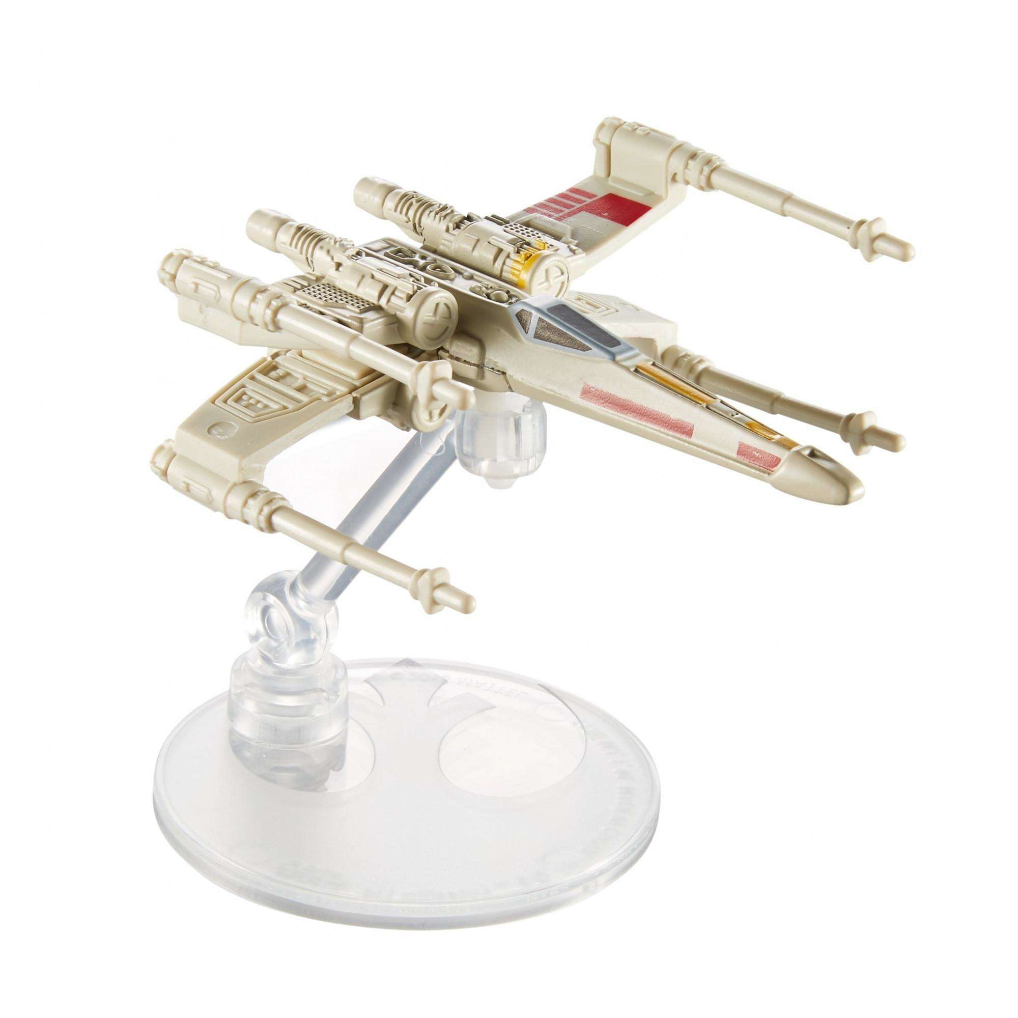 Hot Wheels Star Wars Starships X-Wing Fighter Red Five Vehicle