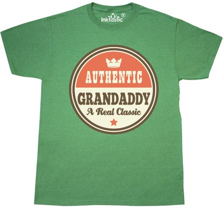 Inktastic Grandaddy Vintage Fathers Day Gift Idea T-Shirt Grandpa For Retro Mens