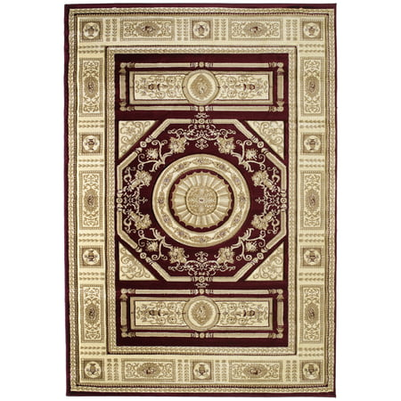 United Weavers Contours Camryn Burgundy Accent Rug 1'10'' x 2'8''