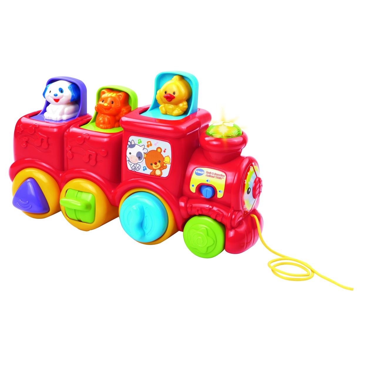 Roll & Surprise Animal Train by VTech