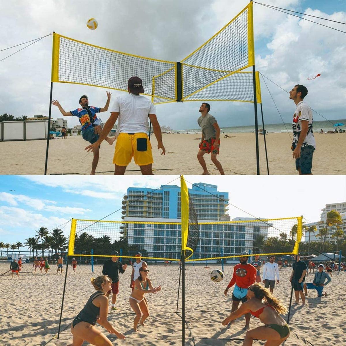 Badminton Net Portable Volleyball Net Sporting Goods Suitable For Indoor And Outdoor Walmart Canada