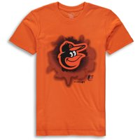 MLB Baltimore ORIOLES TEE Short Sleeve Boys OPP 100% Cotton Alternate Team Colors 4-18