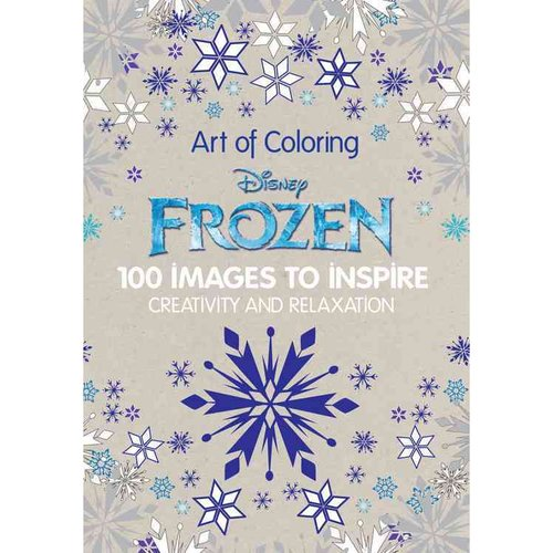 Disney Frozen: 100 Images to Inspire Creativity and Relaxation