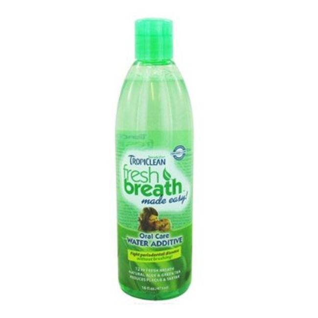 Tropiclean 015180 Fresh Breath Cat Water Additive 16 Oz
