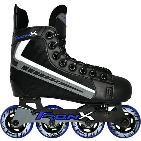 Tron-X Adjustable Inline Hockey Skates (Kids Size Y11 ...