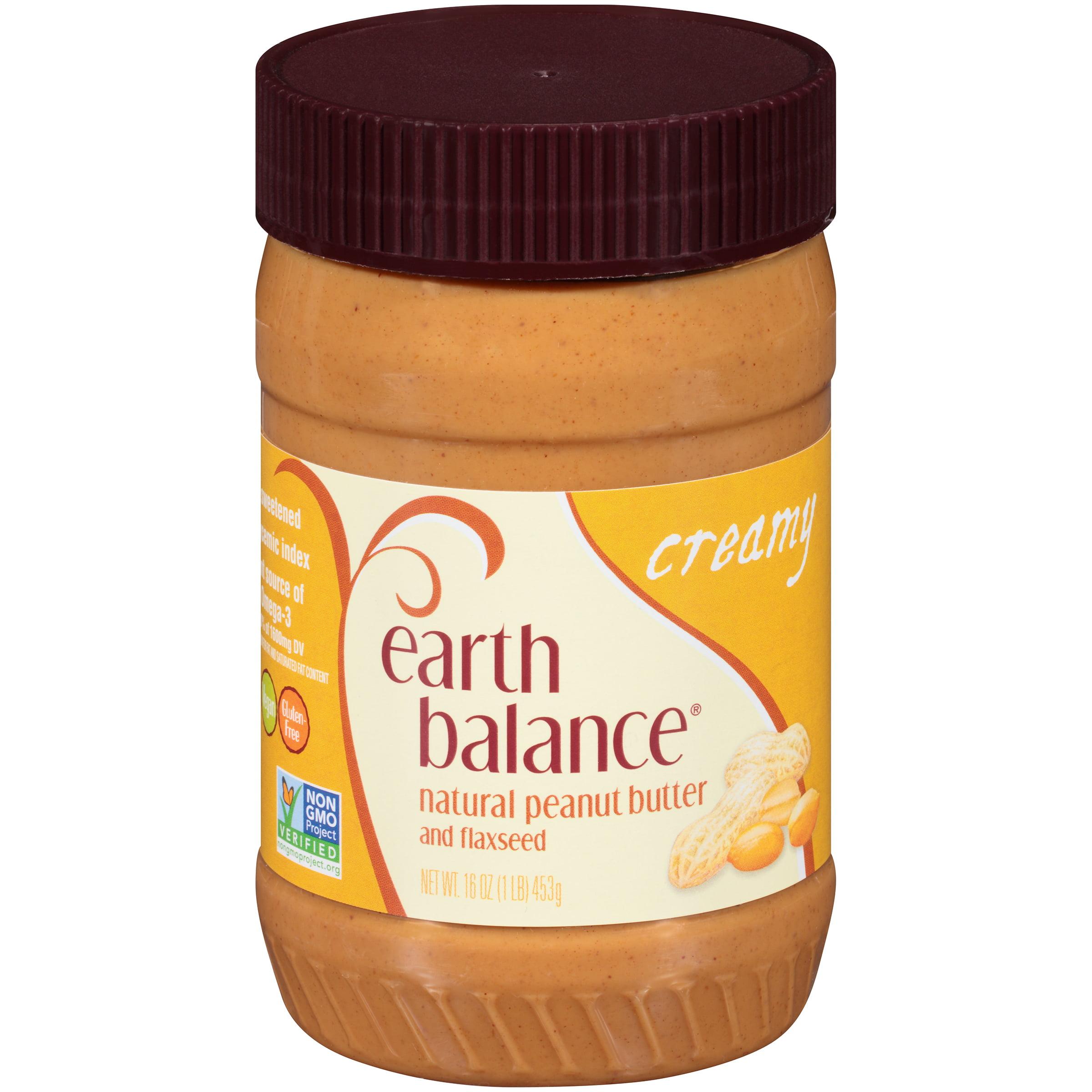 Earth balance peanut butter