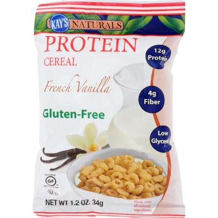 Kay's Naturals Protein Cereal French Vanilla - 1.2 oz