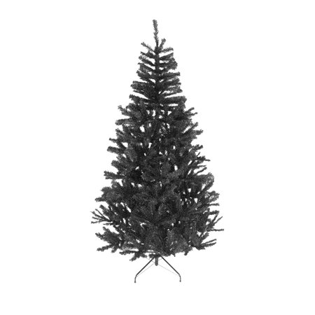 4ft Black Christmas Tree Imperial 230 Tips  Artificial Tree with Metal Stand ()