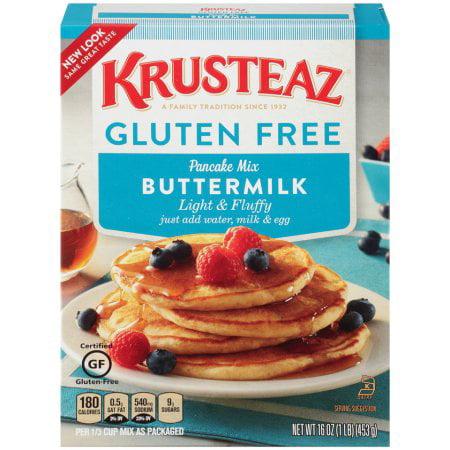 Krusteaz Pancake Mix Gluten Free (Pack of 16)