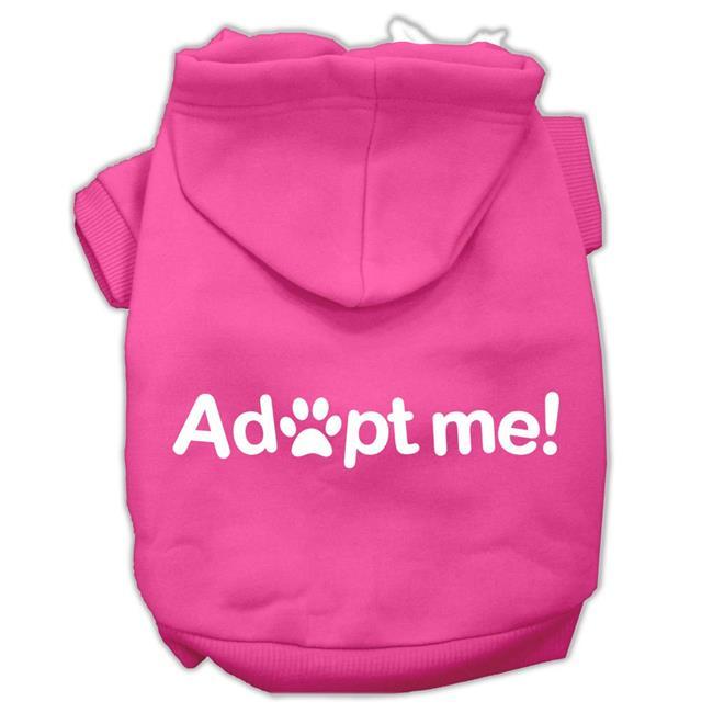 Adopt Me Screen Print Pet Hoodies Bright Pink Size Med (12) - image 1 de 1