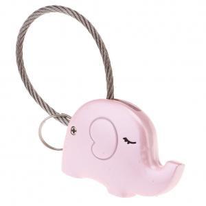 Fancyleo Cute Couple Keychain Elephant Romantic Model Key Ring Pendant Decoration Unique Gift](Cute Couple Accessories)
