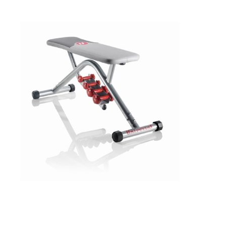 Universal UB200 Utility Bench With Dumbbells