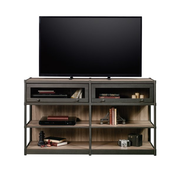 "Better Homes & Gardens Bailey Inn TV Stand Credenza for TVs up to 60"", Washed Oak Finish"