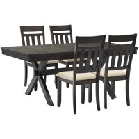 Crosley Hayden 5Pc Dining Set - Table, 4 Chairs