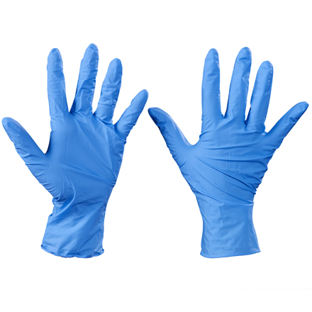 Box Partners TNT Nitrile Gloves,Xlarge,BL,100/CS - BXP GLV2008XL