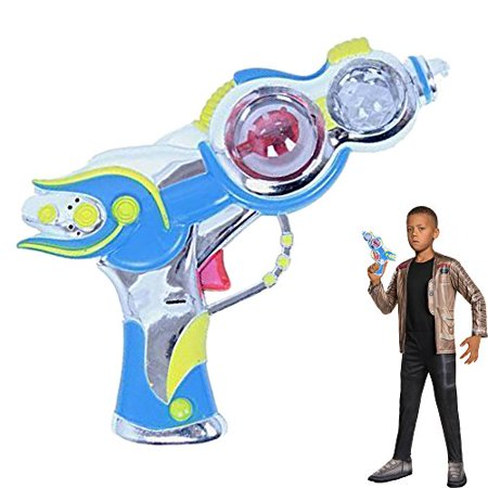 Dazzling Toys Space Gun Spinning Lights and Sound Toy Plastic Pistol](Space Gun Sound)