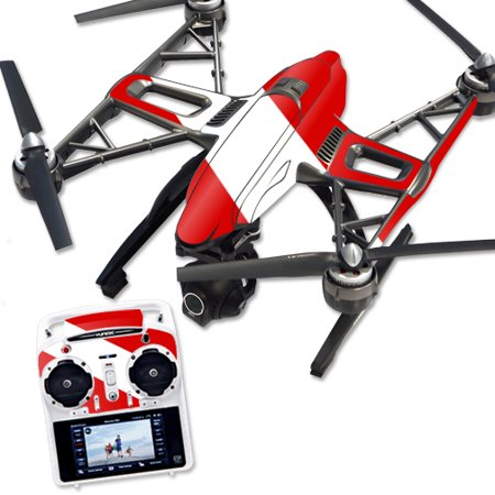 Skin Decal Wrap for Yuneec Q500 & Q500+ Quadcopter Drone Scuba Flag