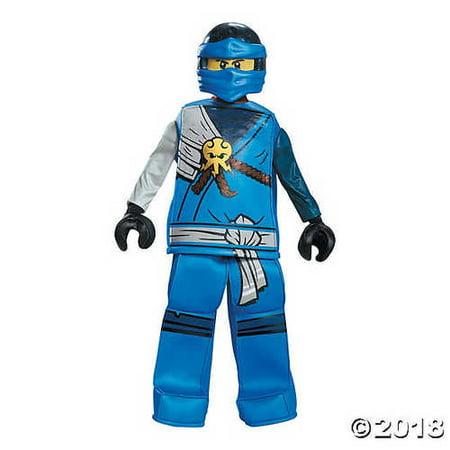 Jay Prestige Ninjago Lego Costume, - Jay Costume