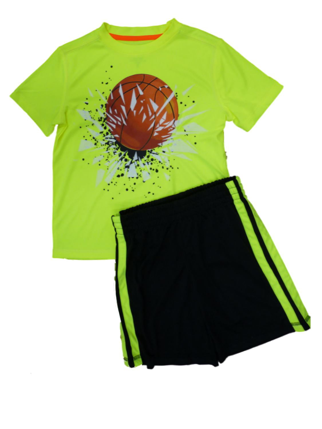 Energy Zone - Energy Zone Boys 2 PC Athletic Shorts & Basketball