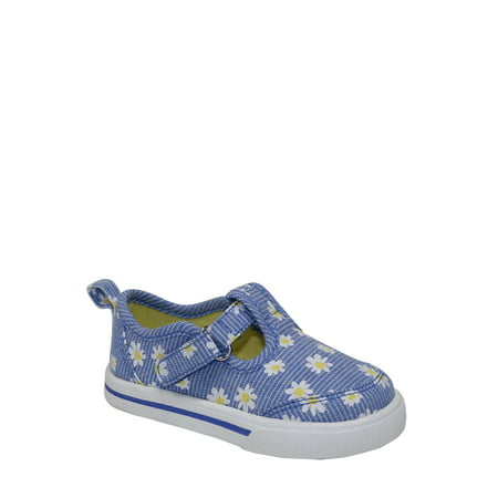 Daisy Bridal Shoes - Wonder Nation Infant Girl Daisy T-strap Casual Shoes