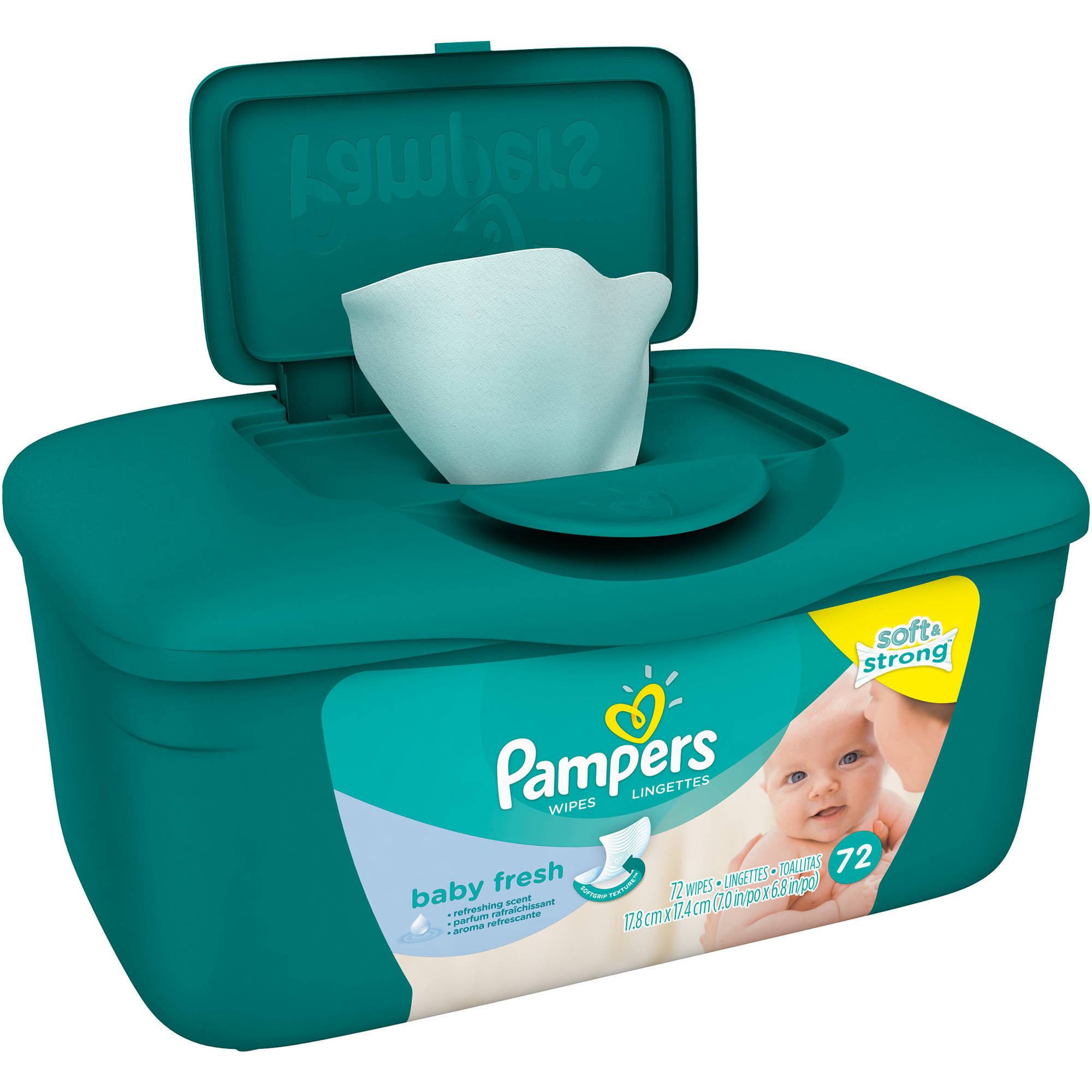 Pampers Baby Fresh Baby Wipes, 72 sheets