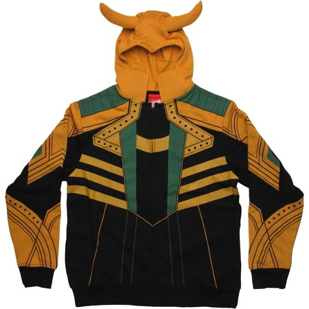 Thor Loki Costume Hoodie - Loki Costume For Sale