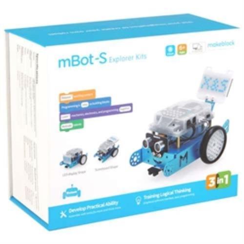 Makeblock 219995 Ty P1010045 Mbot-s Explorer Programmable Robot Kit F 1st-9th Retail