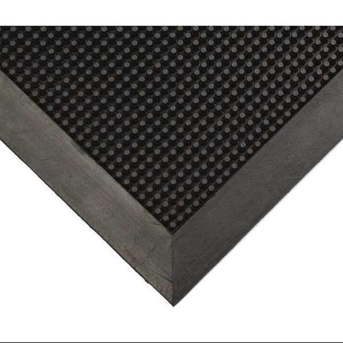 "3 ft. 10"" Entrance Mat, Black ,Wearwell, 220.12X28X46BK"