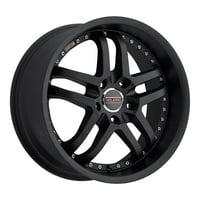 "20"" Inch Milanni 9012 Kapri 20x9 5x114.3(5x4.5"") +38mm Matte Black Wheel Rim"