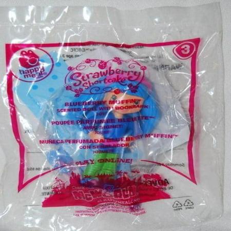 McDonalds 2010 Strawberry Shortcake Blueberry Muffin #3 Doll (Strawberry Shortcake Blueberry Muffin)
