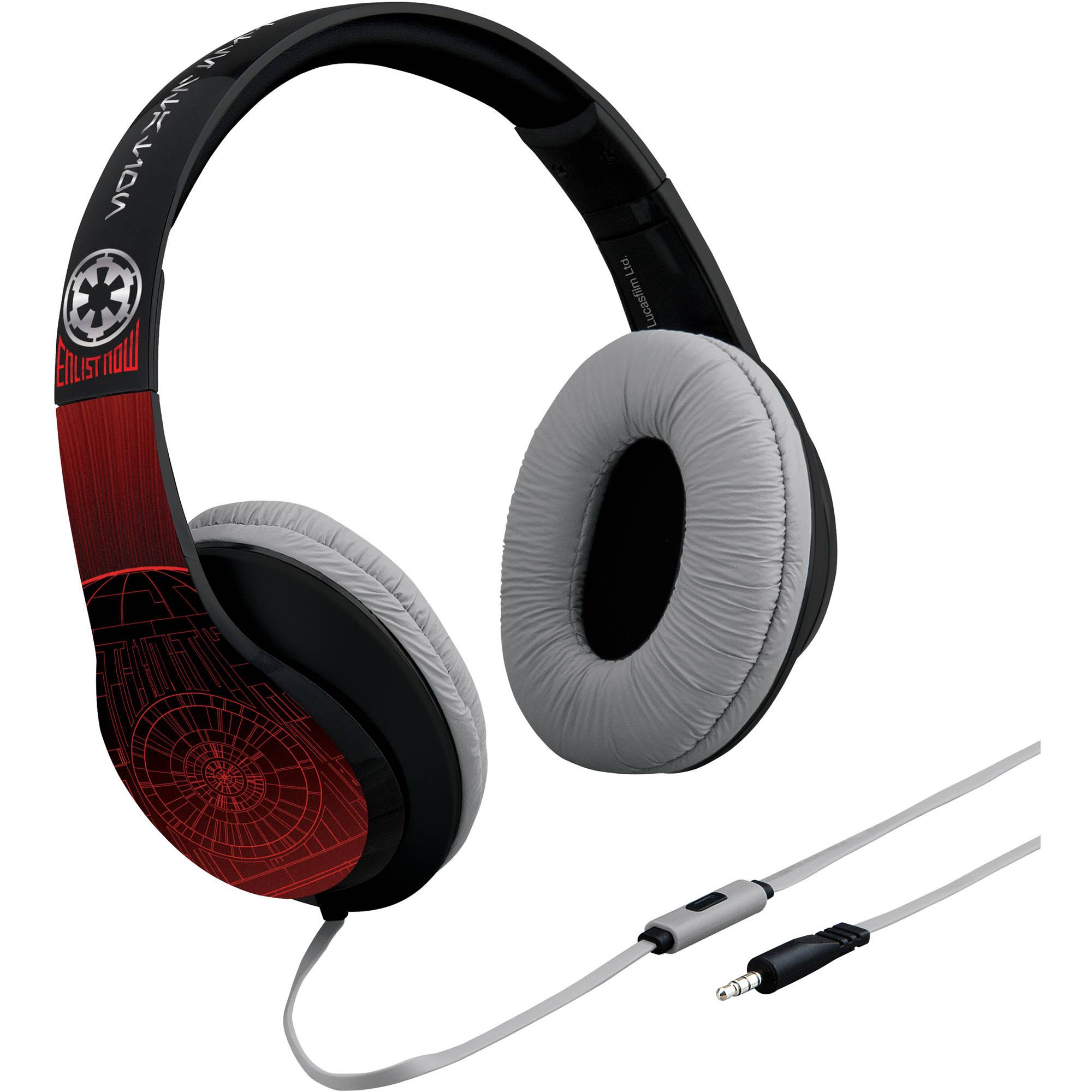 Lucas Star Wars Rogue One iHome Over-the-Ear Headphones