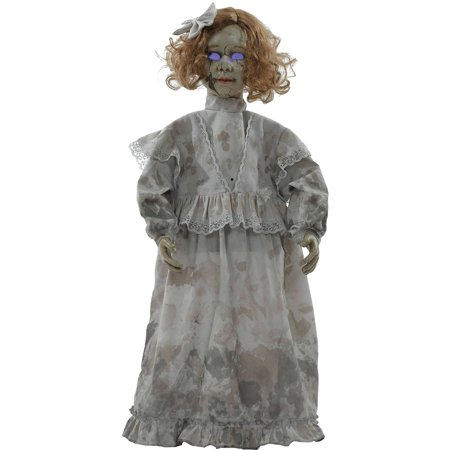 Cracked Victorian Doll Prop Halloween Decoration