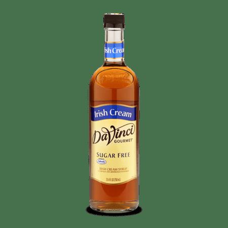 DaVinci Gourmet Sugar Free Syrup, Irish Cream, 750ml