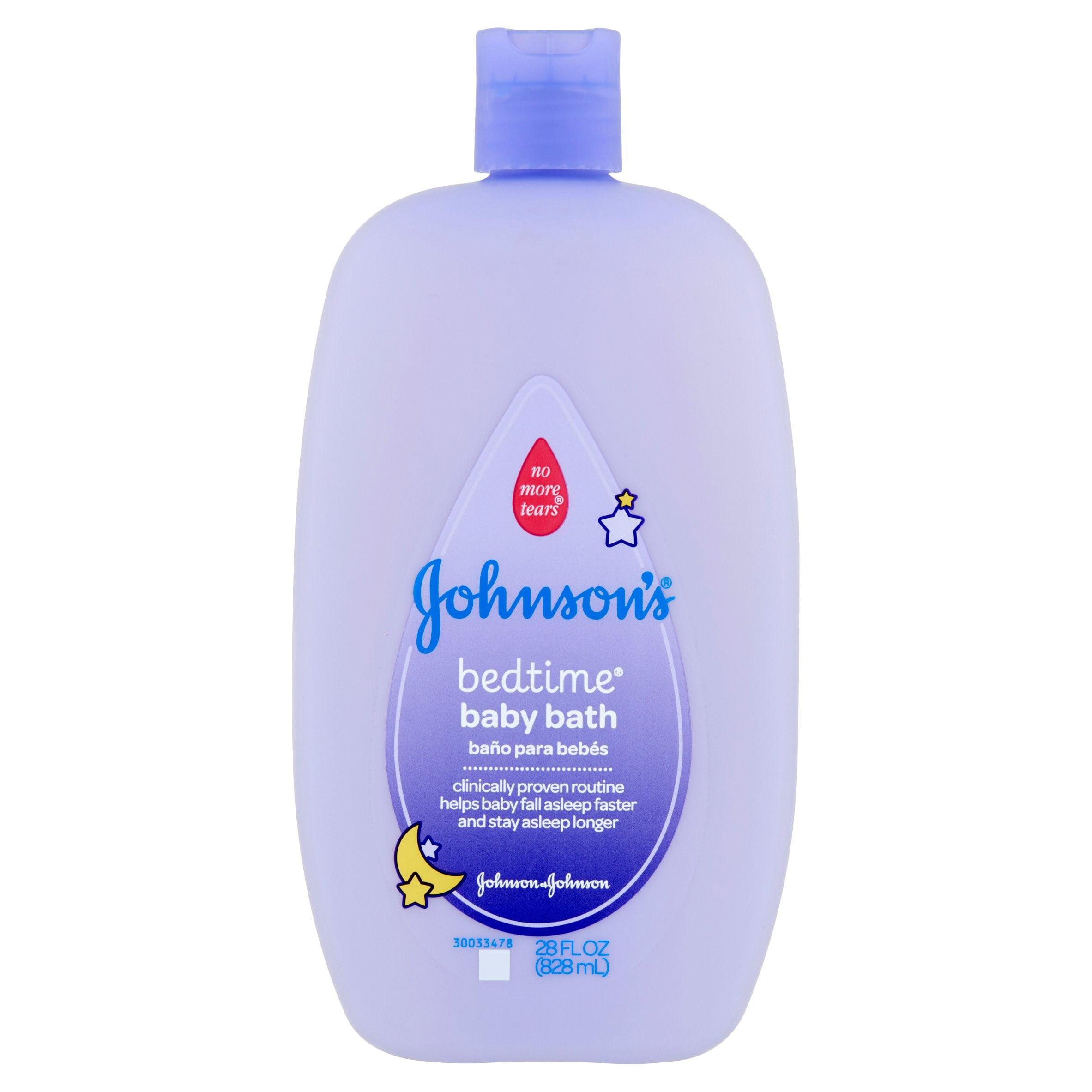 Johnson & Johnson Johnson\'s Bedtime Baby Bath, 28 fl oz - Walmart.com