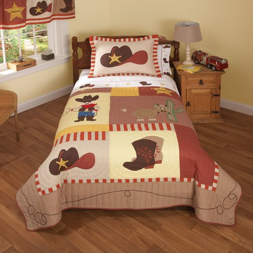 My World Cowboys 200 Thread Count Sheet Set