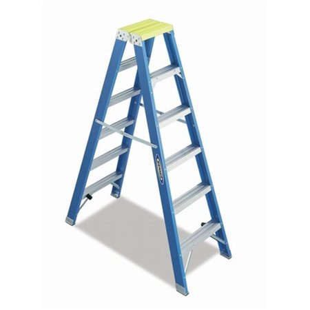 Fiberglass Front End (Werner Ladder  4 ft. Twin Front Step Ladder Fiberglass)