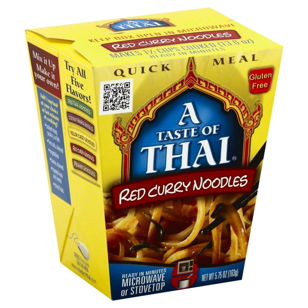 A Taste Of Thai: Red Curry Noodles, 5.75 Oz