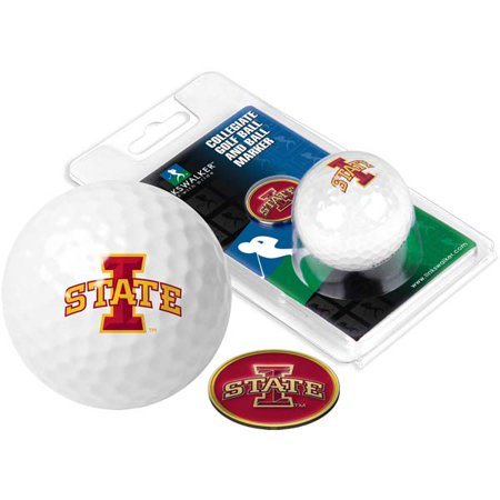 Iowa State Golf Ball One Pack with Marker