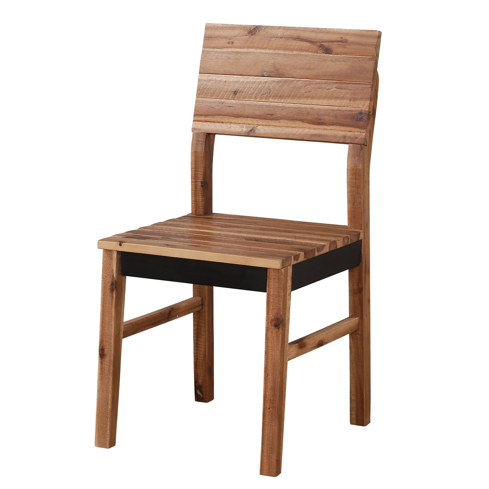 Modus Weston Solid Wood Dining Side Chair - Natural Acacia