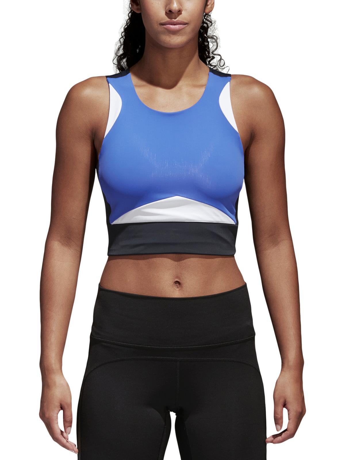 Adidas Womens Crop Yoga Sports Bra
