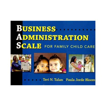 Business Administration Scale for Family Child Care by