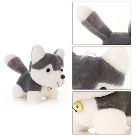 Toy for KIds Siberian Husky Super Cute Plush Toy Simulation Dog Model Toy Kids Appease Doll - image 4 de 5