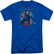 Supergirl Classic Hero Mens Big And Tall Shirt