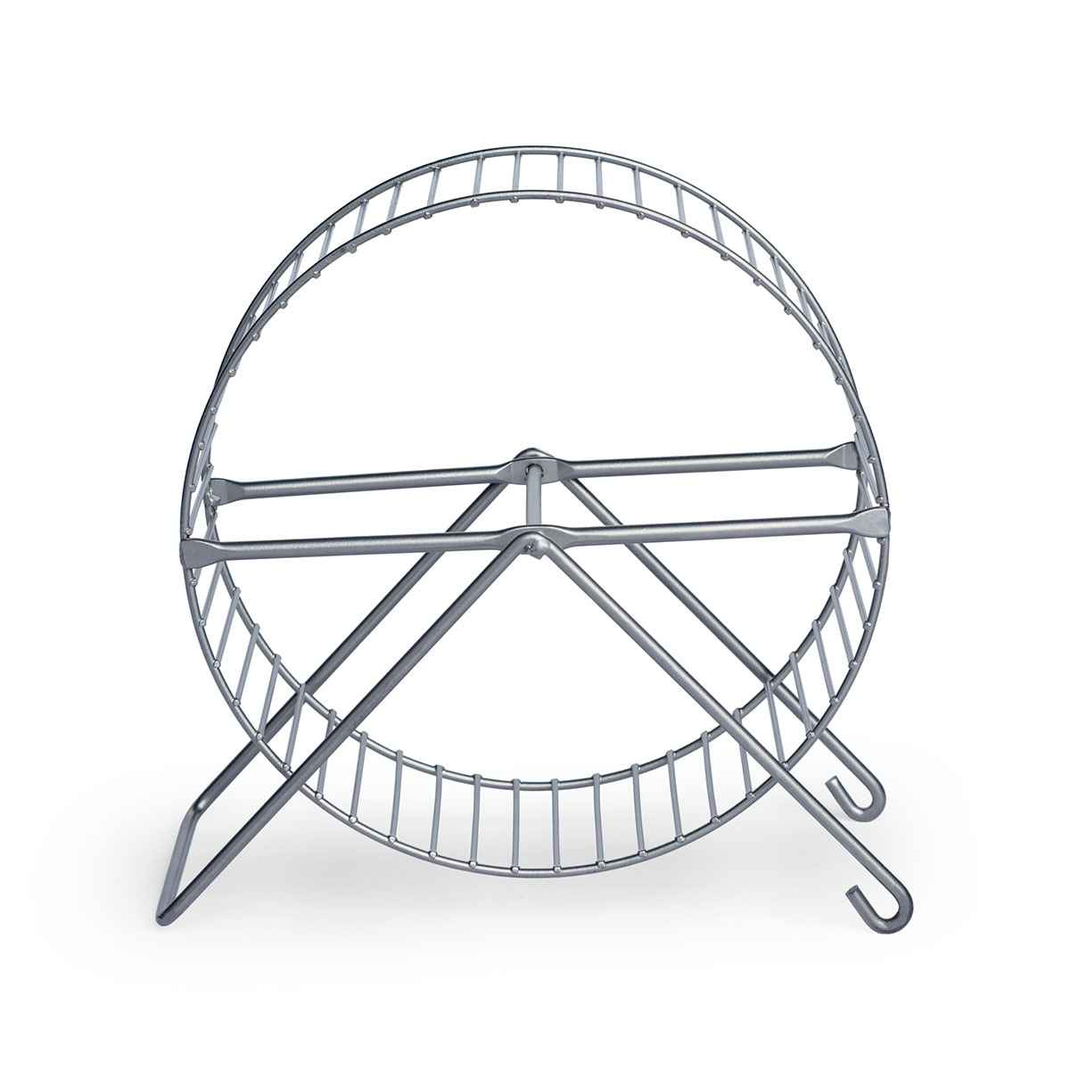 Prevue Pet Products Inc-Small Animal Exercise Wheel- Silver 7 Inch