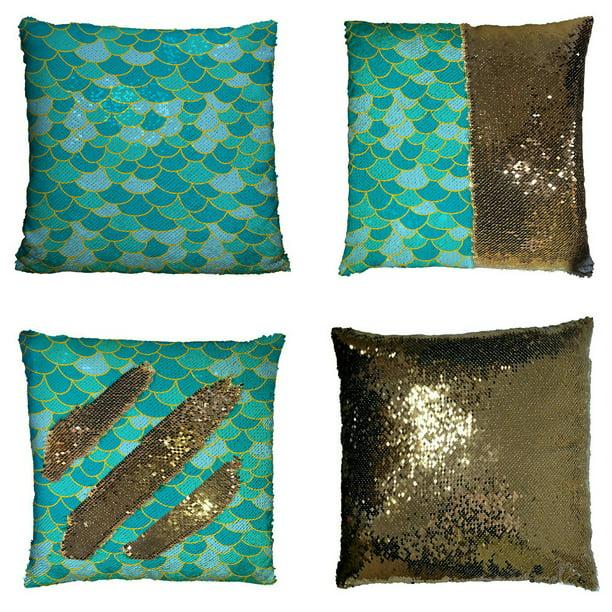 Eczjnt Fish Scale Pillow Case Home Decor Cushion Cover 20x30 Inch Walmart Com Walmart Com