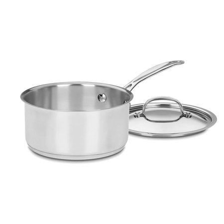 Chef's Classic Stainless Steel 2-Quart Saucepan