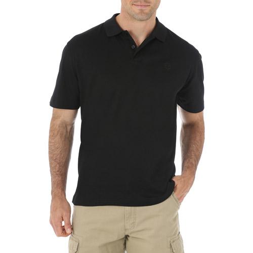 Wrangler Mens' Short Sleeve Advanced Comfort Polo