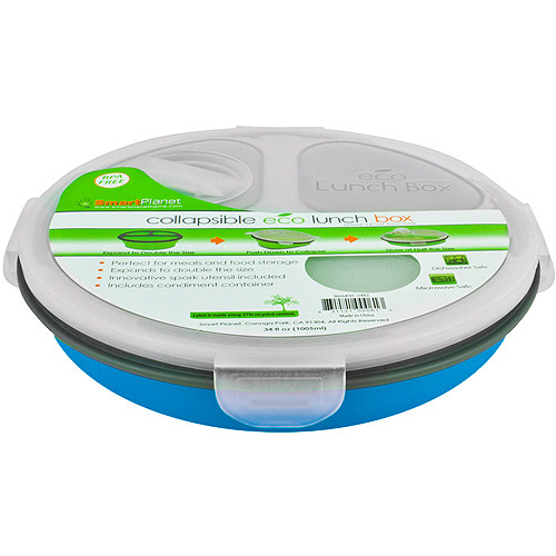 Smart Planet Round Collapsible Meal Kit